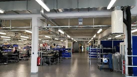 SimonsVoss-Produktion am erweiterten Standort Osterfeld