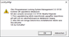 LSM-uppdateringsvarning