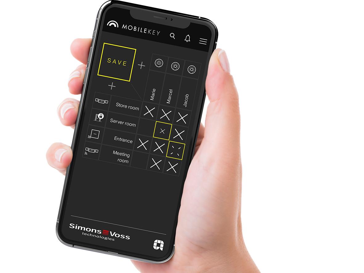 toegangscontrole – digitaal sluitsysteem – iPhone