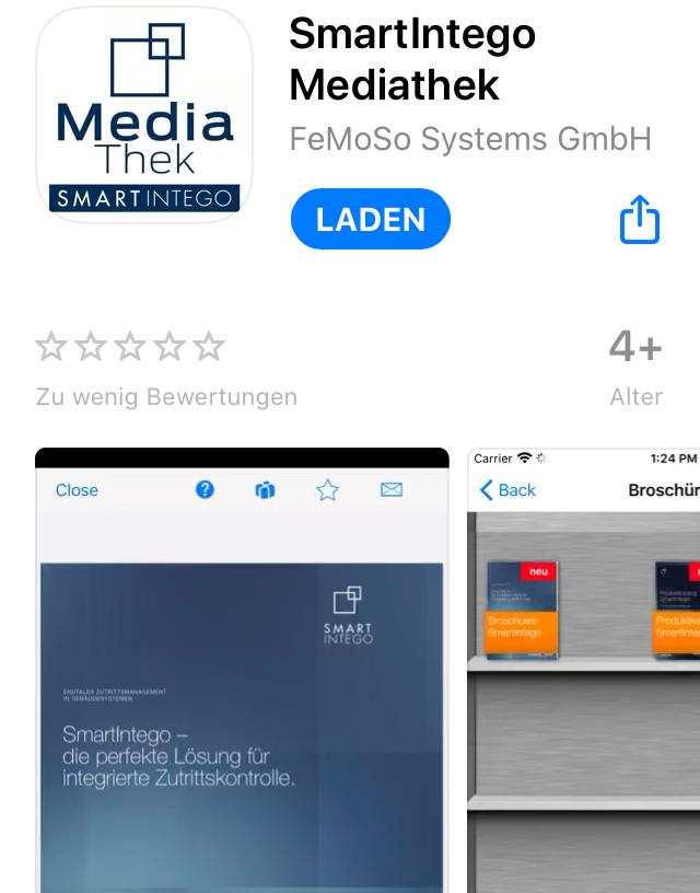 "SmartIntego-App ""Mediathek"""