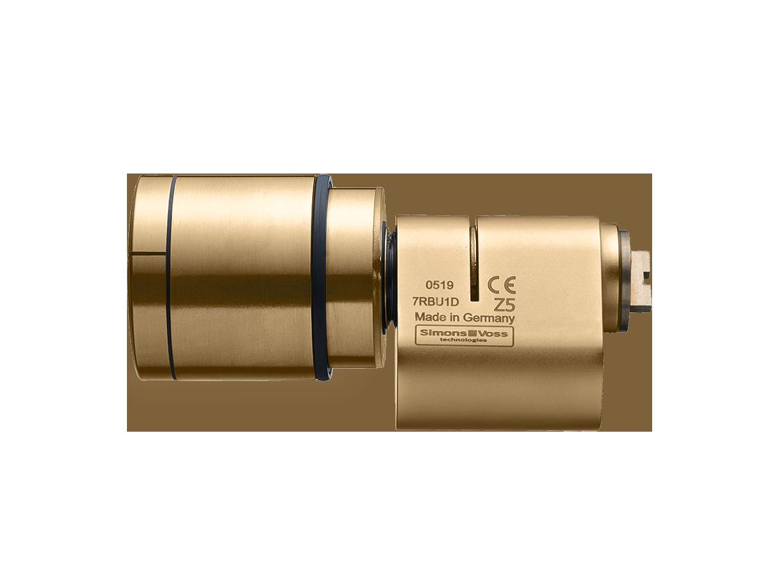 System 3060 | Digitaler Schließzylinder | Scandinavian Oval - Edelstahl