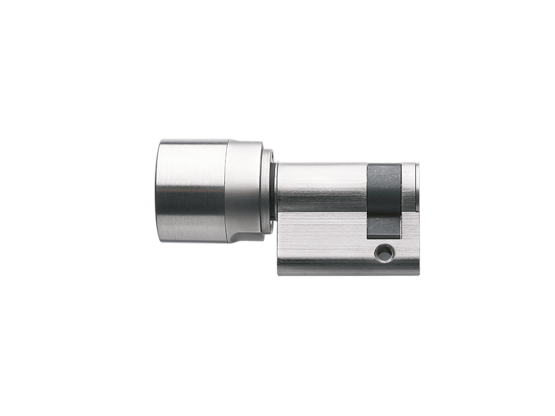 SmartIntego | Digitaler Schließzylinder | Halbzylinder - Europrofil - Edelstahl