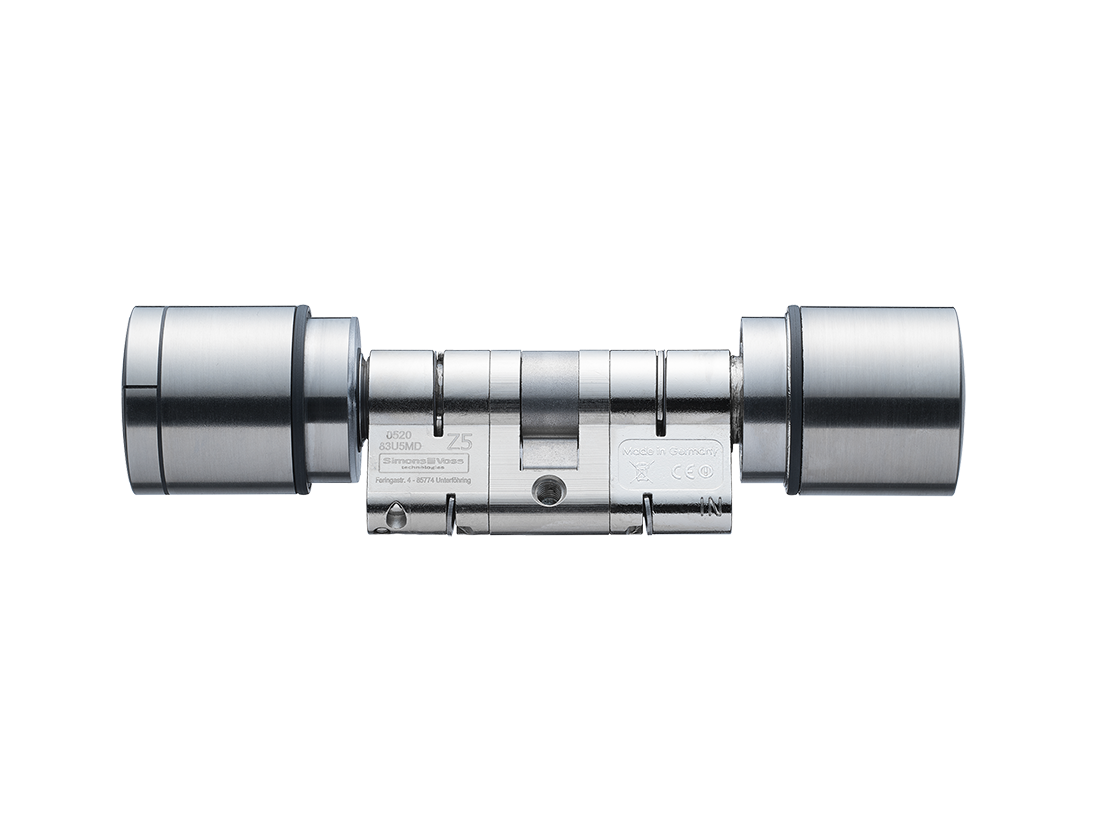 System 3060 | Digital Cylinder AX | Doppelknaufzylinder AX - Europrofil - Edelstahl