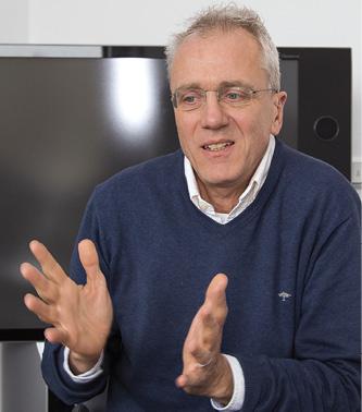 Ludger Voss, der Pionier des batteriebetriebenen digitalen Schließzylinders.
