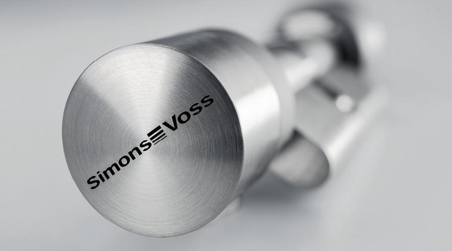 Der digitale Schließzylinder ist kabelfrei und wird so einfach wie ein mechanischer Zylinder in die Tür eingebaut. Die Energieversorgung läuft über eine Batterie mit langer Laufzeit.