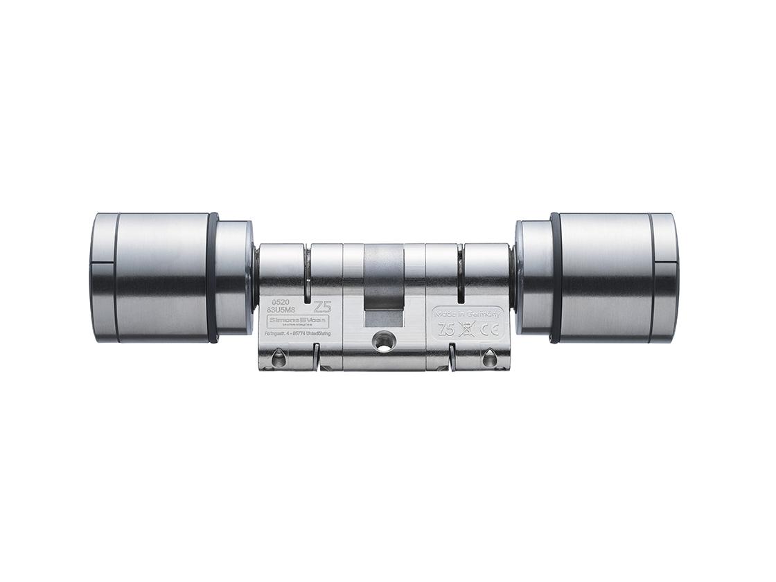 System 3060 | Digital Cylinder AX | Europrofil | Doppelknauf Antipanik - Edelstahl