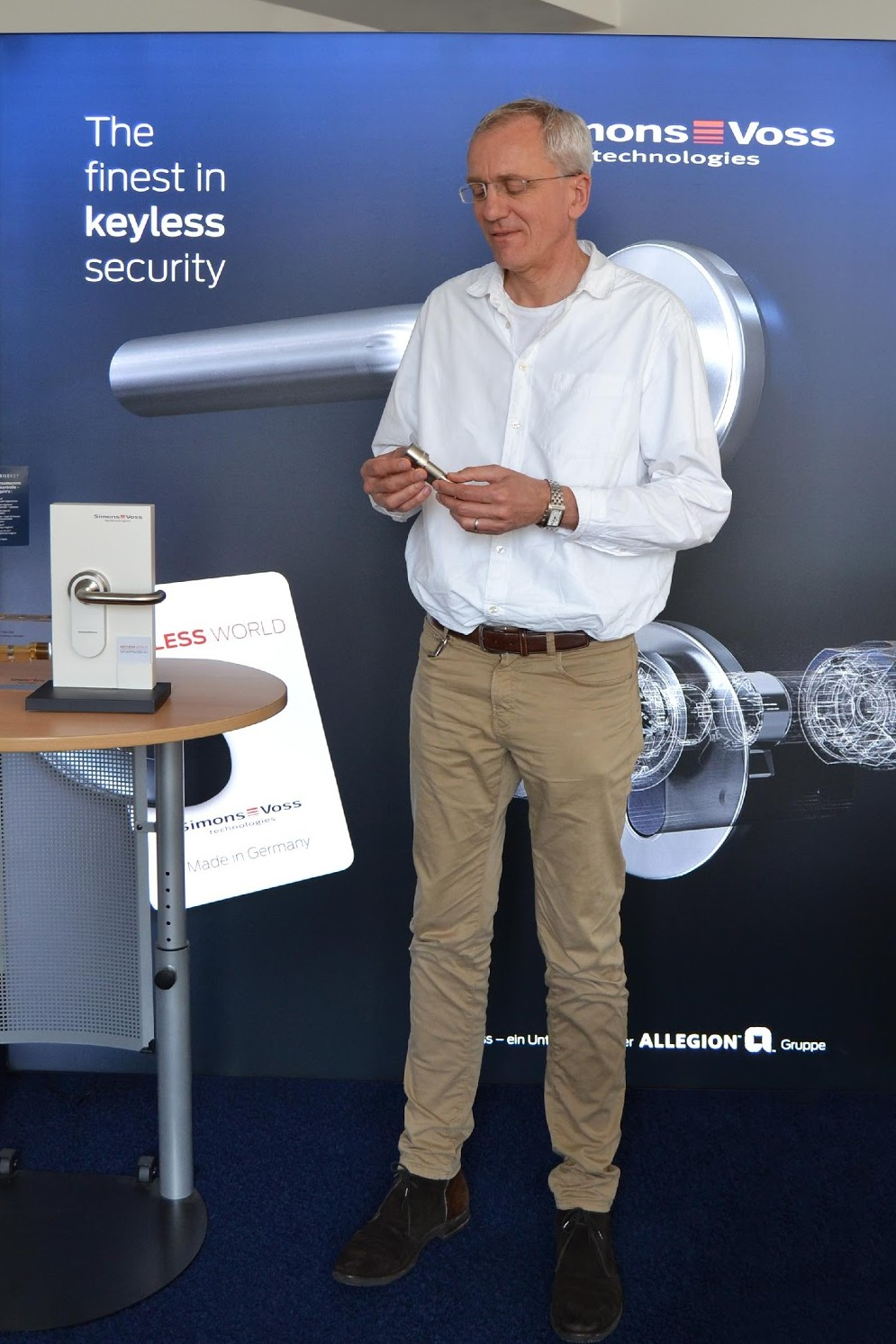 Ludger Voss, Gründer der SimonsVoss GmbH