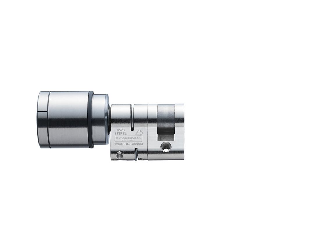 System 3060 | Digital Cylinder AX | Europrofil |Halbzylinder AX  - Edelstahl