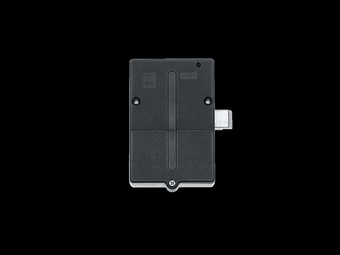 System 3060 | Digitale Möbelschlösser | Möbelschloss mit Schnapper - Global - Schwarz