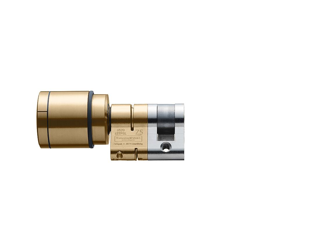 System 3060 | Digital Cylinder AX | Europrofil |Halbzylinder AX  - Messing
