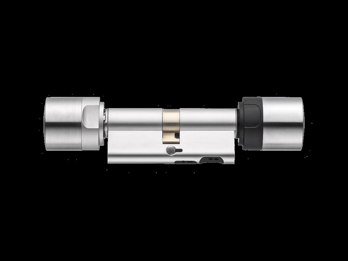 MobileKey | Digitale Schließzylinder | Doppelknauf - Europrofil - Edelstahl