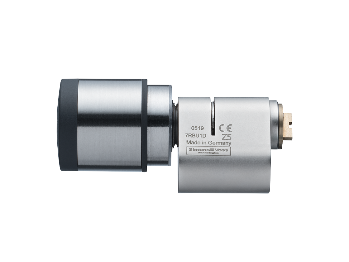 SI | Digital Cylinder AX | Scandinavian Oval | Edelstahl