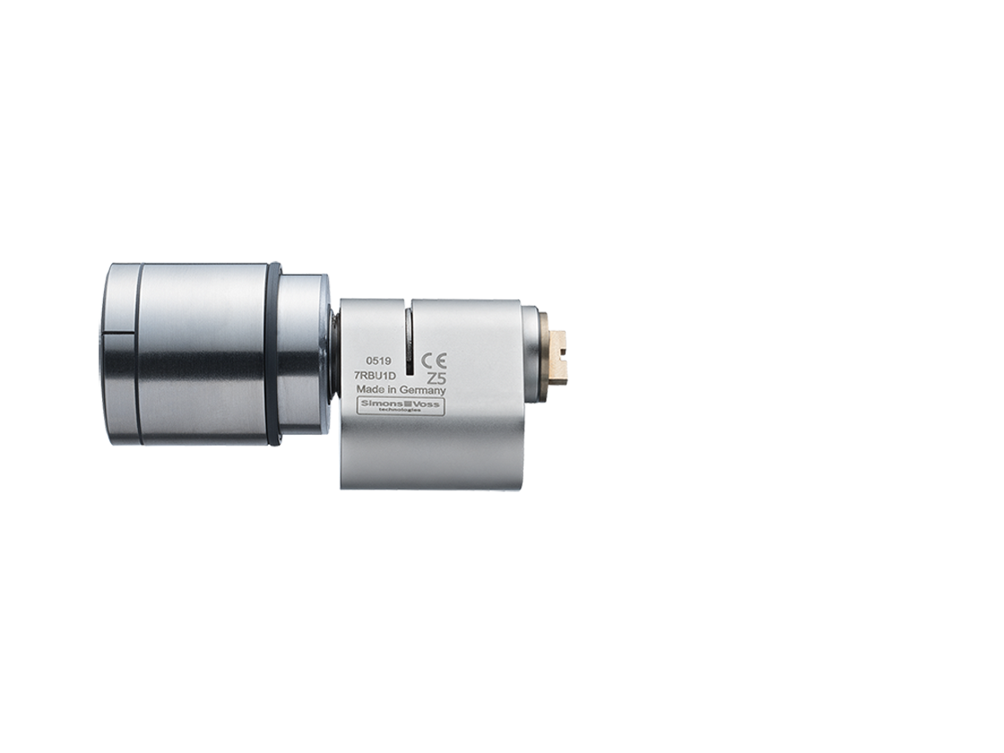 System 3060 | Digital Cylinder AX | Scandinavian Oval | Edelstahl