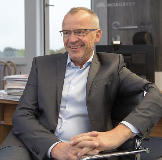 """Bernhard Sommer: """"Digitale Schließsysteme bieten eine höhere Sicherheit und mehr Komfort."""""""