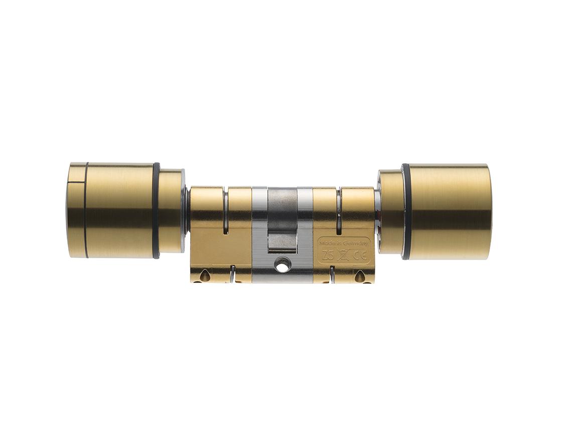 System 3060 | Digital Cylinder AX | Doppelknaufzylinder AX - Europrofil- Messing