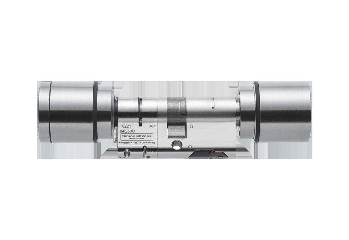 System 3060 | Digital Cylinder AX | Europrofil | Doppelknauf AX - Antipanik - Europrofil - Edelstahl