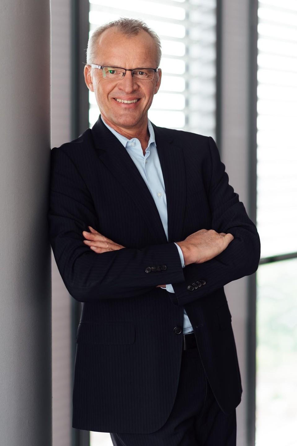 Bernhard Sommer, Geschäftsführer der  SimonsVoss GmbH